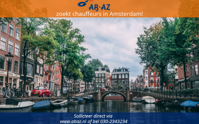 Enthousiaste studentchauffeurs gezocht met affiniteit voor autorijden in Amsterdam
