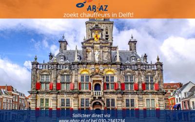 Studentchauffeurs met affiniteit voor autorijden in Delft gezocht!