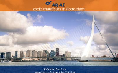 Studentchauffeurs gezocht met affiniteit voor autorijden in Rotterdam