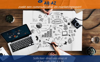 Parttime communicatie- en marketingexpert gezocht!